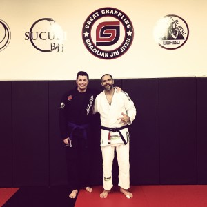 Me and Professor Jeremy Arel